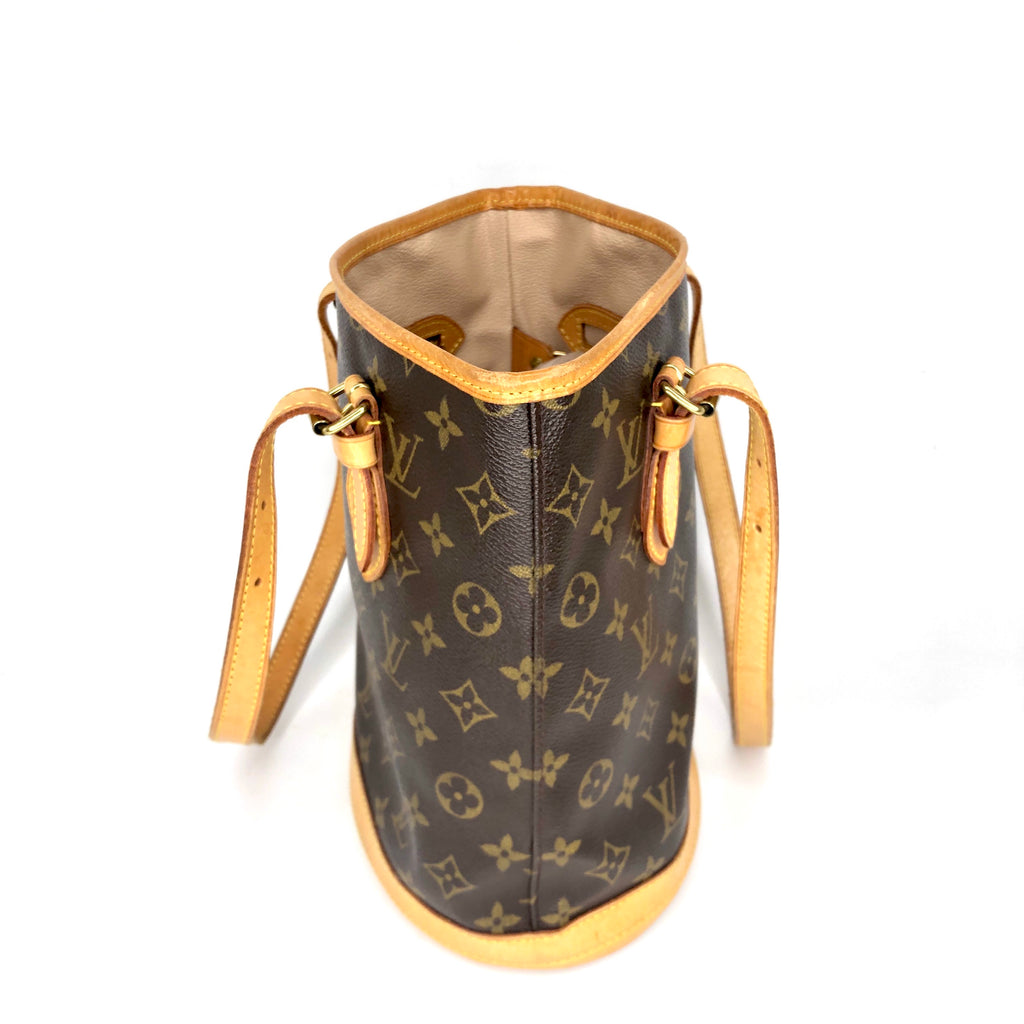 Louis Vuitton Monogram Bucket PM Tote