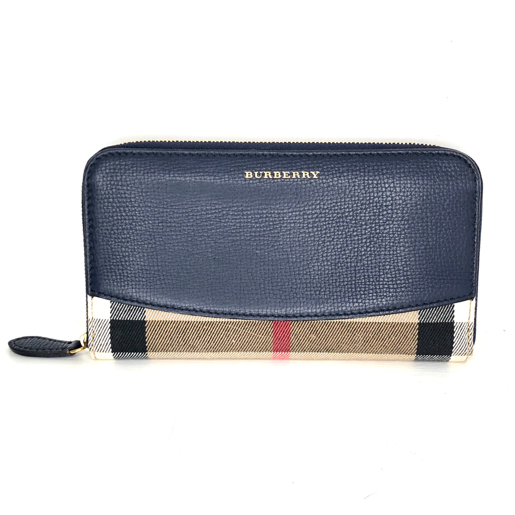 Burberry House Check Porter Continental Wallet