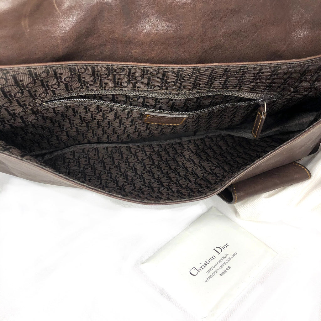 Christian Dior Medium Gaucho Saddle Bag