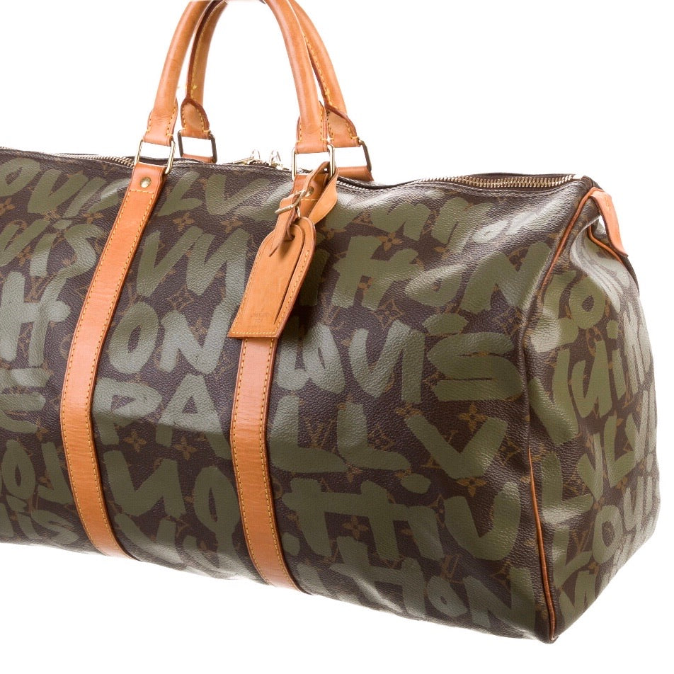 Louis Vuitton Stephen Sprouse Graffiti Keepall 50