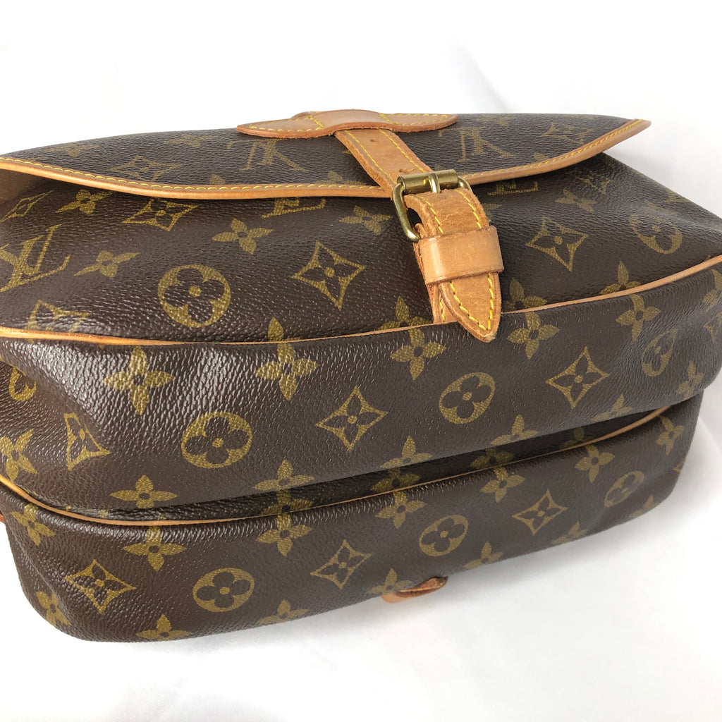 Louis Vuitton Monogram Saumur 30 Crossbody Saddle Bag