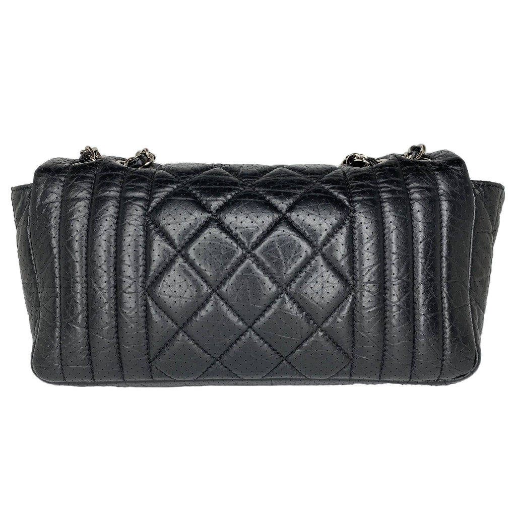 Chanel Vertical Quilted Perforated Flap Bag