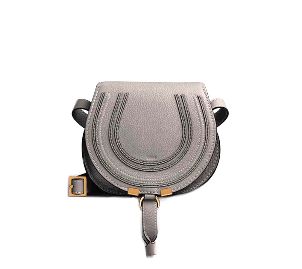 Chloe Mini Marcie Saddle Crossbody Bag