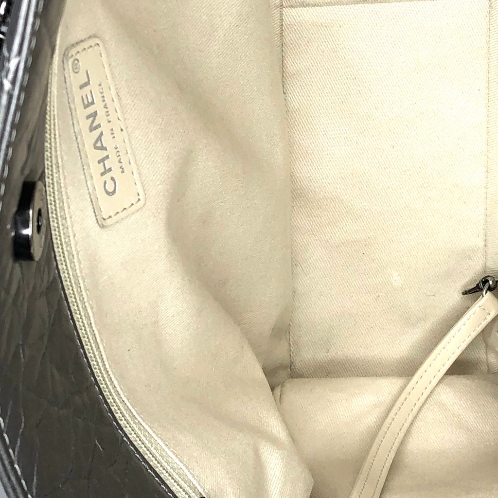Chanel Quilted Calfskin Reissue Tote