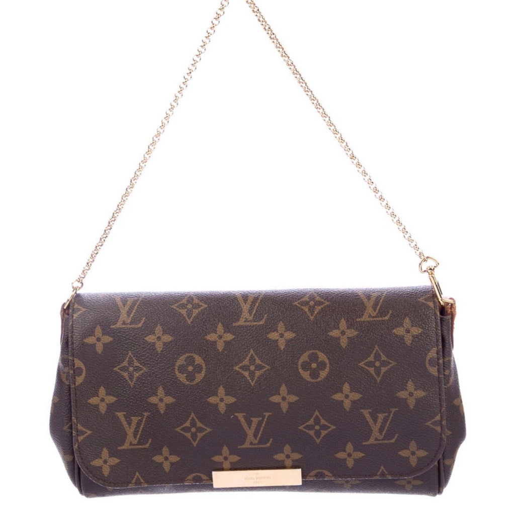 Louis Vuitton Monogram Favorite MM w/ Strap