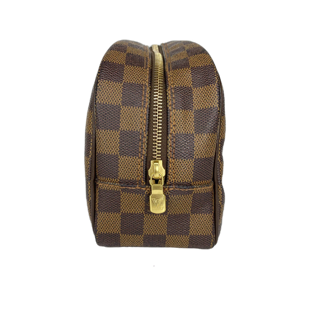 Louis Vuitton Damier Ebene Toiletry Case 25