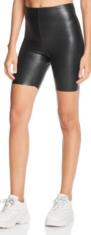 Commando Faux Biker Short In Black