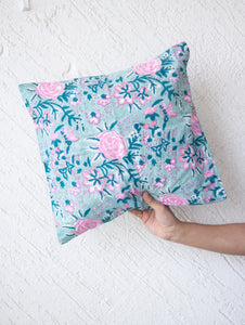 Block print decorative cushion covers - 16x16 inches