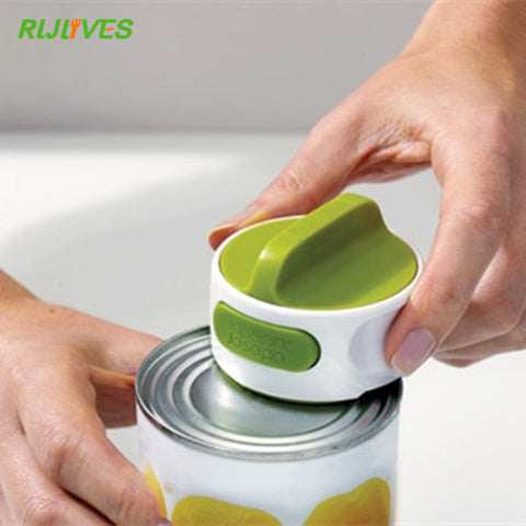 Can Opener Stainless Steel Manual Rotation