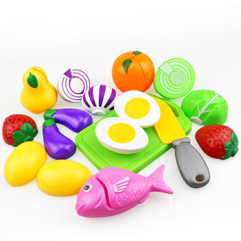 Fruit Vegetable Pretend Kitchen Food Toy Gift - CandM Online Store