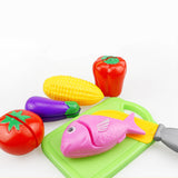Fruit Vegetable Pretend Kitchen Food Toy Gift