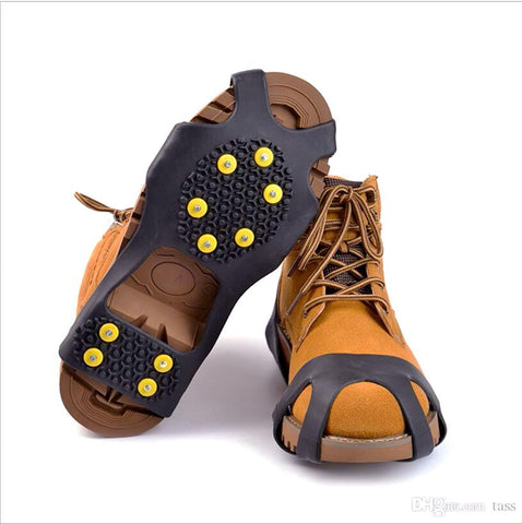 Anti Slip Ice Traction Cleat Over Shoes-10 studs - CandM Online Store