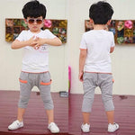 Boys' Summer Two-Piece Outfit - CandM Online Store
