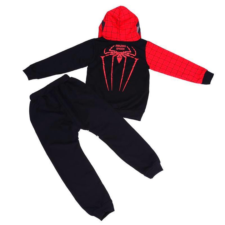 Spiderman hoodie toddler set