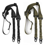 2 Point Rifle Sling, Multi-Use Two point Gun Sling with Length Adjuster for Hunting, Shooting