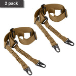 2 Point Rifle Sling, Multi-Use Two point Gun Sling with Length Adjuster for Hunting, Shooting - CandM Online Store