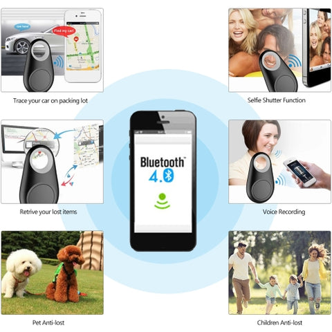 GPS Anti-Lost Key Finder Bluetooth Locator-5 PCS - CandM Online Store