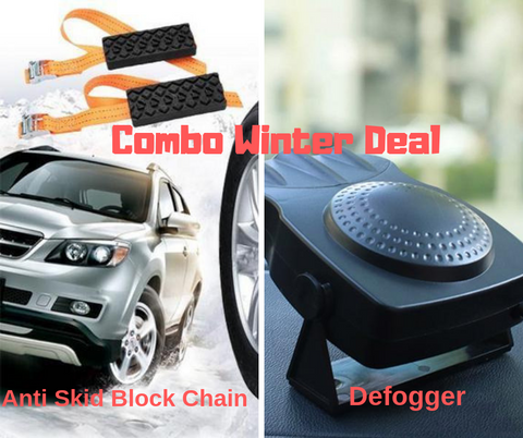 Winter Deal-Defogger and Anti Skid - CandM Online Store