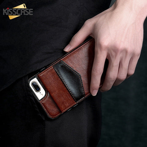 Cell Phone Leather Case With Card Holder - CandM Online Store
