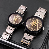 Full Steel Watches For Couple - CandM Online Store