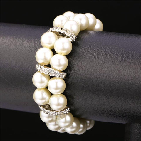 Multi Layer Pearl Bracelet Jewelry - CandM Online Store