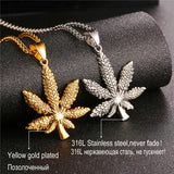 Hot Sale Maple Leaf Charm Necklace - CandM Online Store
