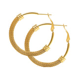 Mesh Hoop Earrings - CandM Online Store