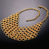 Chunky Molecule Circle Maxi Necklace - CandM Online Store