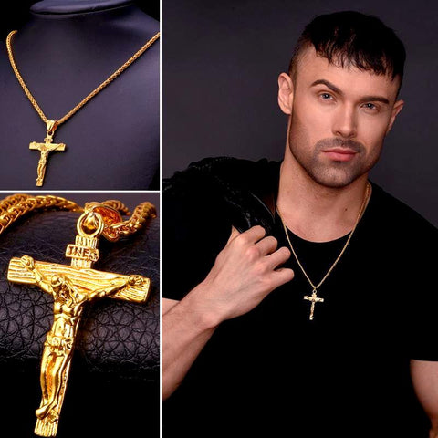 Cross Pendant & Necklace