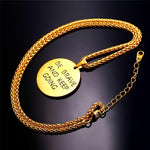 Be Brave And Keep Going Inspirational Necklace - CandM Online Store