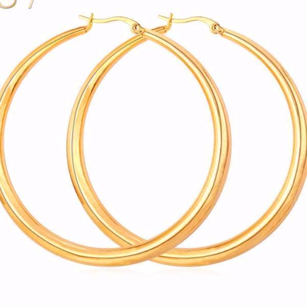 Big Hoop Earrings For Ladies