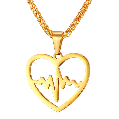 Heartbeat Necklace & Pendant For Women