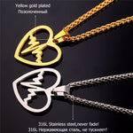 Heartbeat Necklace & Pendant For Women - CandM Online Store