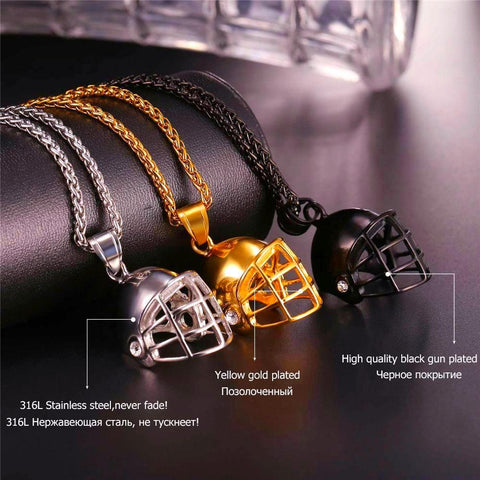 Ice Hockey Necklace for Men - CandM Online Store