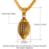 Football Sport Necklace - CandM Online Store