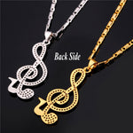 Music Note Necklace - CandM Online Store