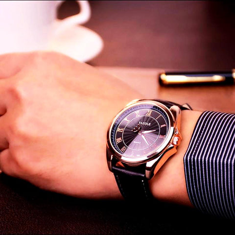 Luxury Male Business Quartz Watch