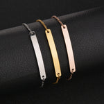 Customized Engrave Link Chain Bracelets For Women - CandM Online Store