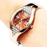 Rose Gold Bangle Watch - CandM Online Store