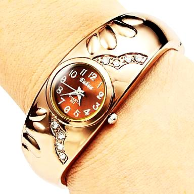 rose gold bangle watch
