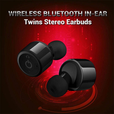 Wireless Bluetooth Mini Twin Earphones - CandM Online Store
