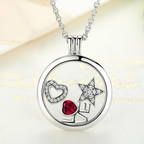 Memory Pendant Necklace Genuine 100% 925 Sterling Silver - CandM Online Store