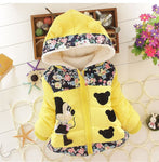 Winter Minnie Coat Clothes Big Size Autumn Children Warm Outerwear Coats For Girls - CandM Online Store
