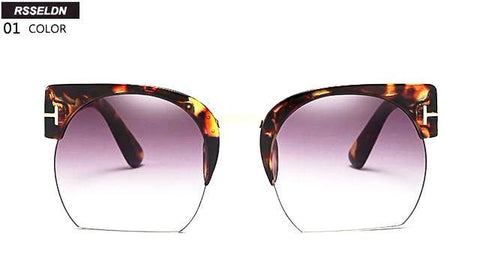 Newest Semi-Rimless Sunglasses for Women - CandM Online Store