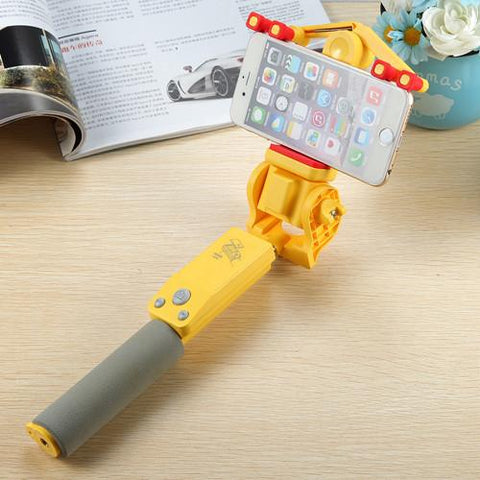 360 Degree Rotation Wireless Selfie Stick - CandM Online Store