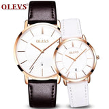 Couple Luxury Ultrathin Wristwatches - CandM Online Store