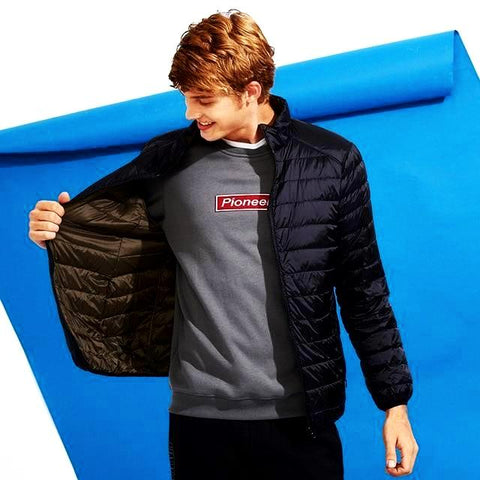 Men's High Quality Reversible Ultra Light Packable Down Jacket - CandM Online Store