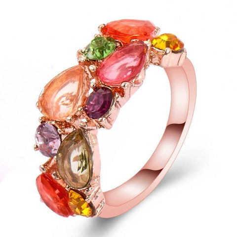 Rose Gold Color Mona Lisa Ring - CandM Online Store