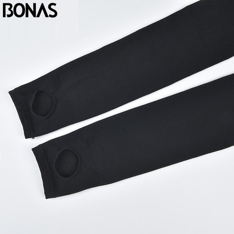 BONAS Thick Tights Velvet Pantyhose Tights Women Autumn Winter Velvet Tights Female High Elastic Waist Warm Pantyhose Hosiery - CandM Online Store