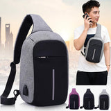 Anti-theft Backpack With USB Charging Port Unisex